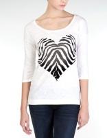Camiseta blanca + rayas