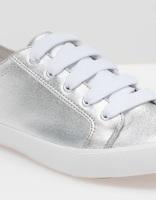 Zapatillas metalizado